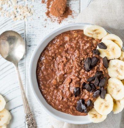 Chocolate Banana Oatmeal