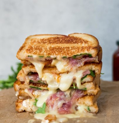 Pear & Brie Grilled Cheese