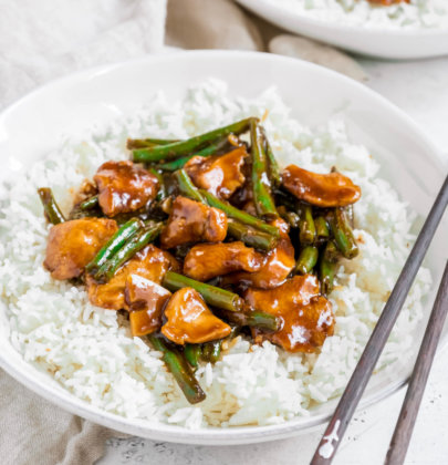 Chinese Takeout Style Chicken & String Beans