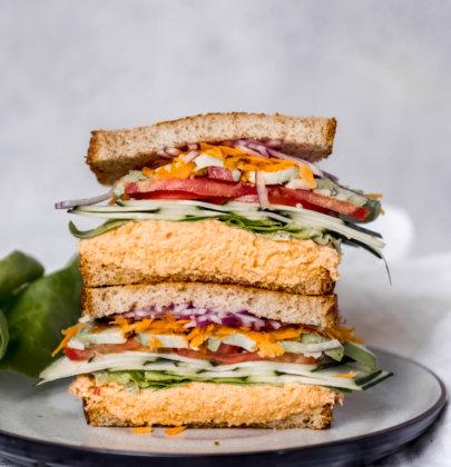 Spicy Tuna & Veggie Sandwich